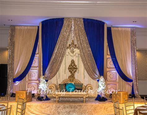 Indian wedding reception decorations   Www