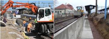 Ombyggnad av järnvägsstationen i Åstorp