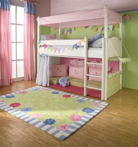 girls bed  fort      high