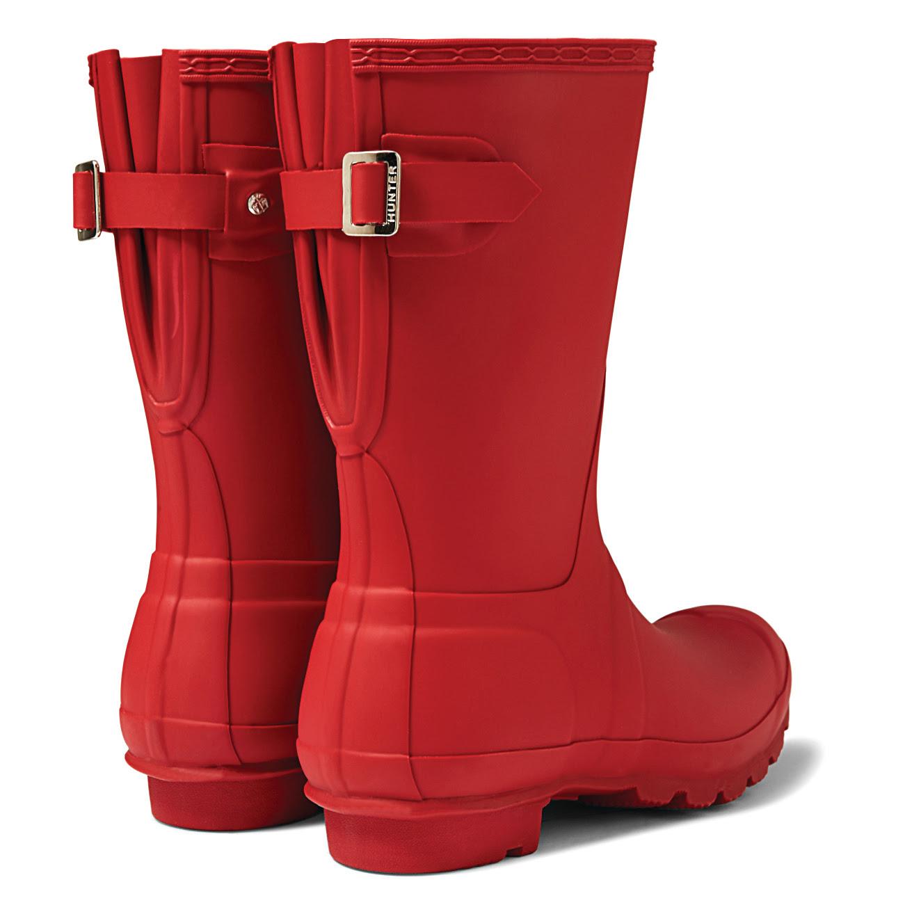 Hunter womens original back adjustable rain boots aesthetic usa