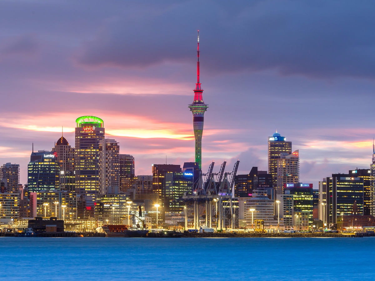 4. Auckland, New Zealand: Hitting a median multiple of 10, Auckland is the fourth most expensive city to live in around the world this year.