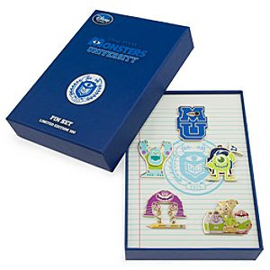 Oozma Kappa Pin Set - Monsters University