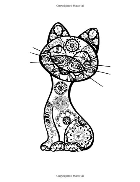 colorful cats   stress relieving cats designs