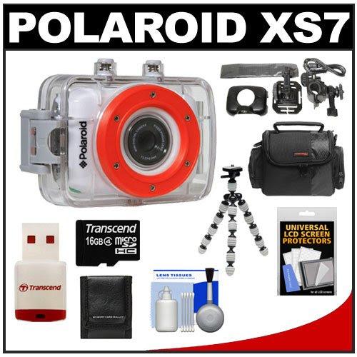 Low Price Polaroid Xs7 Waterproof Hi Def Hd Sports Video Camera