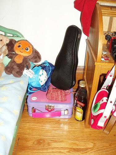 Inky's nightstand