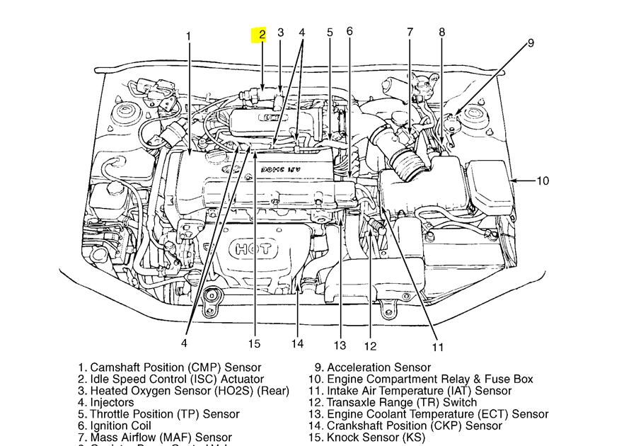 2003 Hyundai Santum Fe Engine Diagram