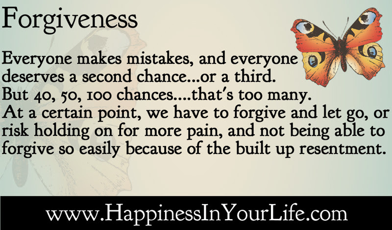 Quotes About Forgiveness And Second Chances 14 Quotes