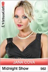 VirtuaGirl HD: 0565.- Jana Cova - Black Angel