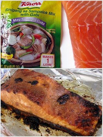 Sinigang Crusted Salmon