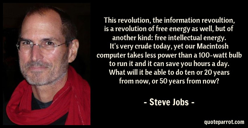 This Revolution The Information Revoultion Is A Revol By Steve