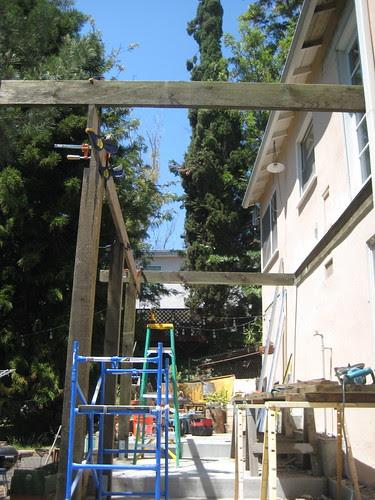 rebuilding the deck