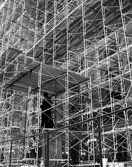 Scaffolding: Not just for construction workers...
