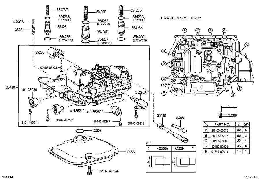 2006 Scion Xb Parts Diagram