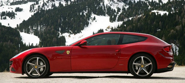 2012 Ferrari FF side view