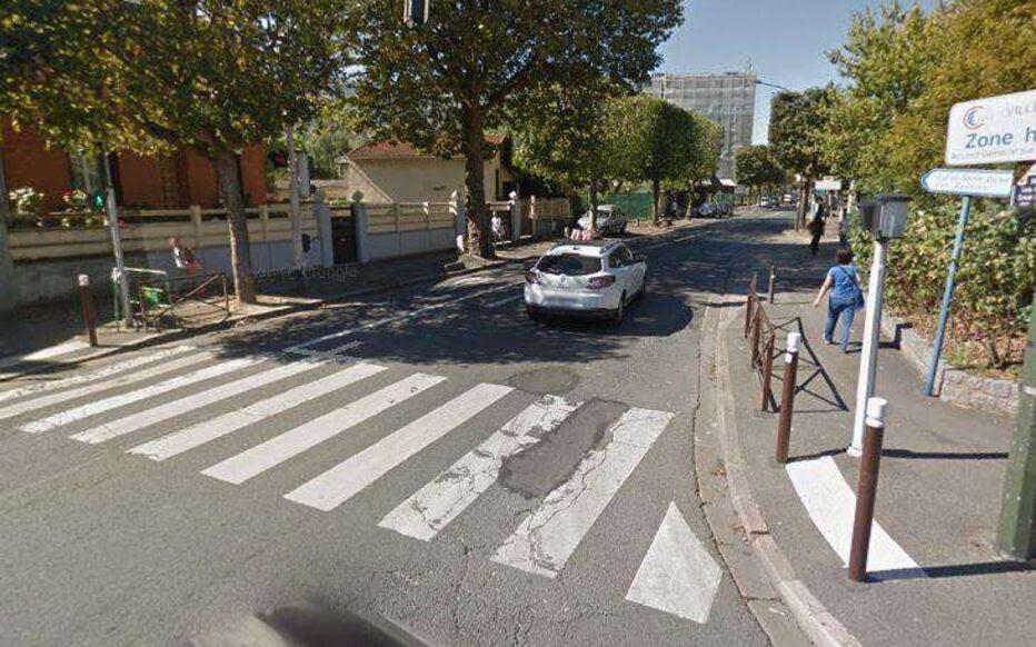 Villejuif Rénovation Du Trottoir Avenue Aragon Le Parisien