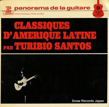 SANTOS, TURIBIO classiques d'amerique latine