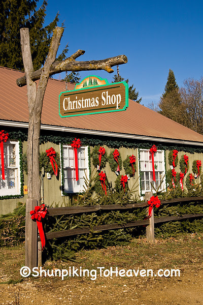 Christmas Shop at Summers Christmas Tree Farm, Dane County, Wisconsin