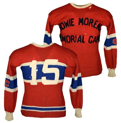 Babe Siebert Howie Morenz Memorial Game jersey photo Babe Siebert Howie Morenz Memorial Game jersey.jpeg