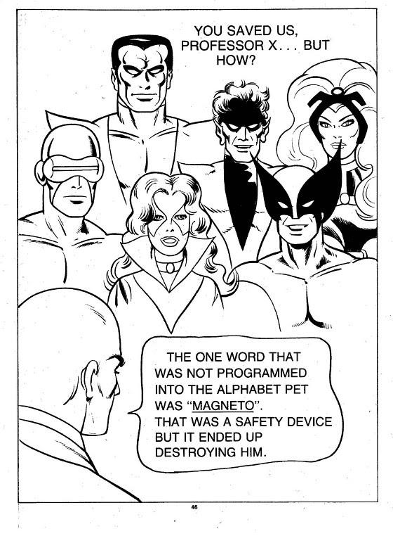 X-Men Super Activity Book00047