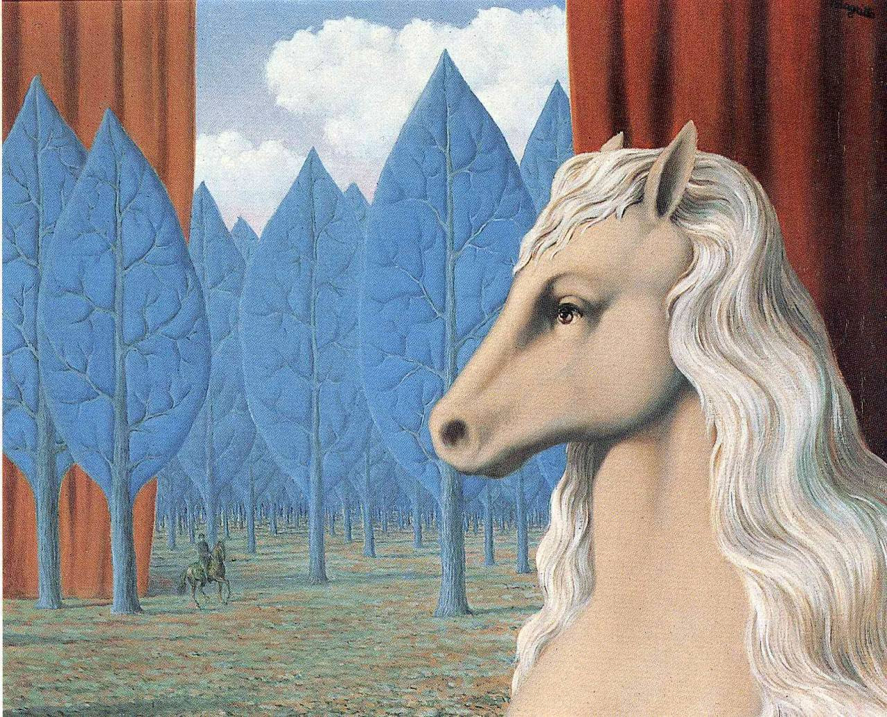 Pure reason, 1948 Rene Magritte