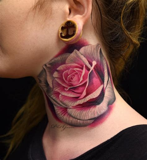 magnificent rose tattoos page    tattoomagz