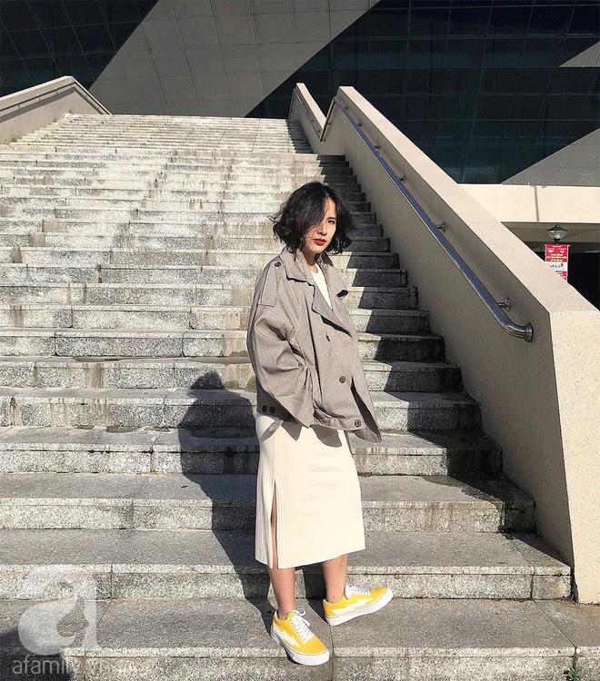 Trần Ngọc Hạnh Nhân: cô nàng 32 tuổi mê sneakers, đang mang bầu tháng cuối nhưng vẫn mặc chất không kém nhiều 9x 10x - Ảnh 8.