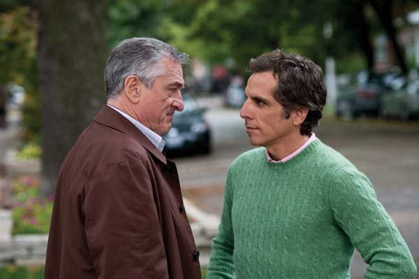 Ben Stiller y Robert De Niro en Little Fockers