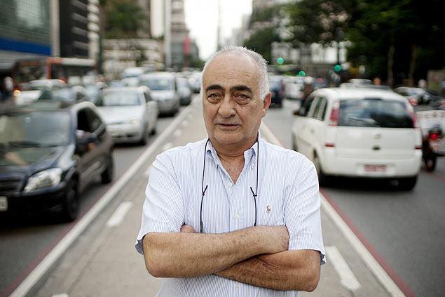 Luiz Khurbi praticamente deixou de sair de carro por conta dos preços abusivos dos estacionamentos em São Paulo