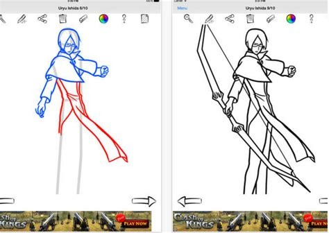 great ipad apps students    draw anime  manga