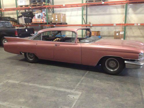 Purchase used 1960 Cadillac 6 windows Sedan DeVille 4 Door ...