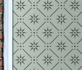Etched Glass Window Designs Repeat Patterns Philip Bradbury Glass