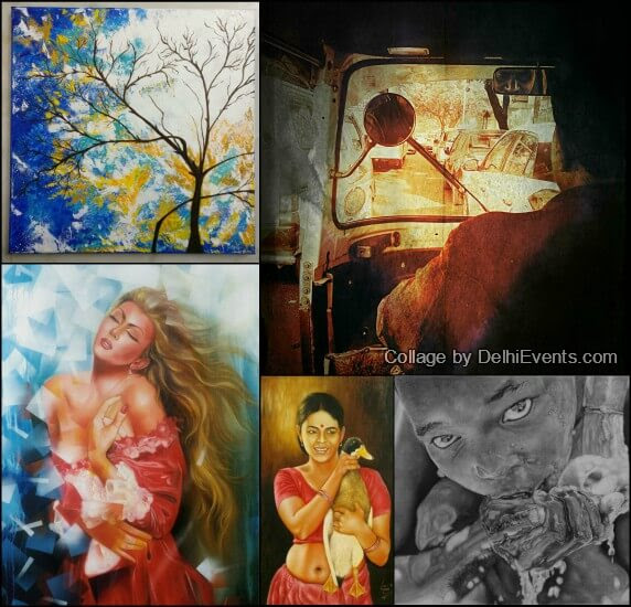 Meraki group art show Chandni Gulati Exhibition Artworks