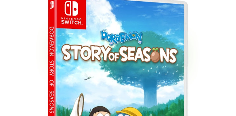 Doraemon Story Of Seasons Switch Physical Release
