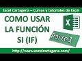 Función Condicional SI (IF)