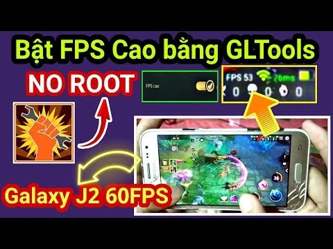 Tải GLTools NO ROOT cho mọi Android - Hỗ trợ bật FPS Cao cho tất cả Game Online