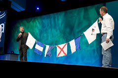 """Scott McNealy and Larry Ellison, General Session """"Java: Change (Y)Our World"""" on June 2, JavaOne 2009 San Francisco"""