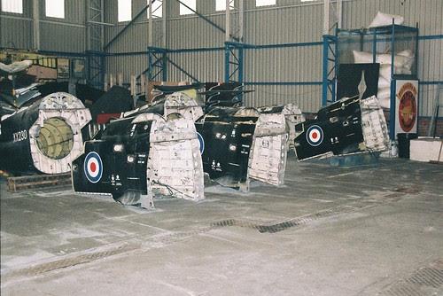 Hawk Rear Fuselage