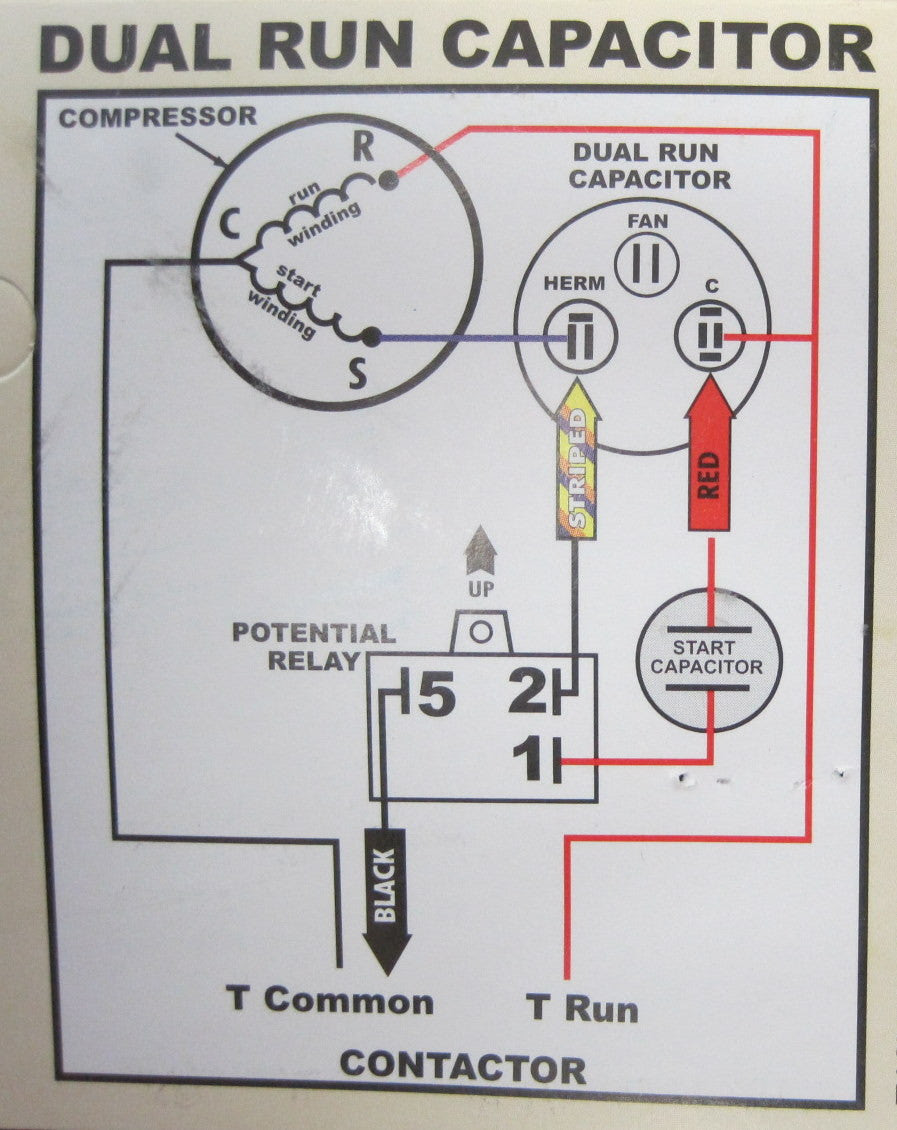 50 Best Of Compressor Start Relay Wiring Diagram