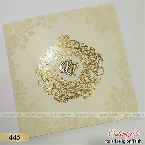SC 445   Indian Wedding Cards by Seven Colours