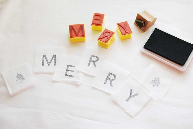 25 crafts of christmas // stamps