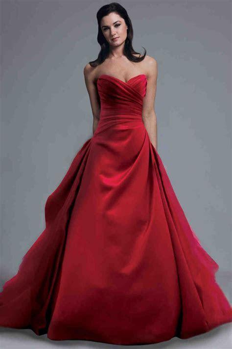 Red Wedding Dresses, Spring 2013 Bridal Fashion Week