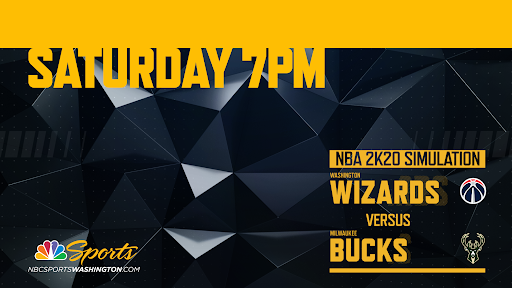 Avatar of How to Watch Wizards vs. Bucks NBA 2K20 simulation and John Wall's record-setting assist game