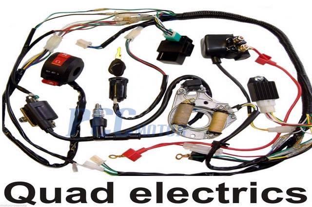 Qyie Atv Engine Wiring Schematic | Wildfire Atv Wiring Harness |  | Fuse Wiring