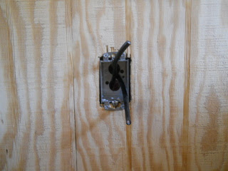 Wires Through Box Bracket