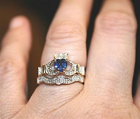 Claddagh Rings: Perfect For Bridal And Sapphires