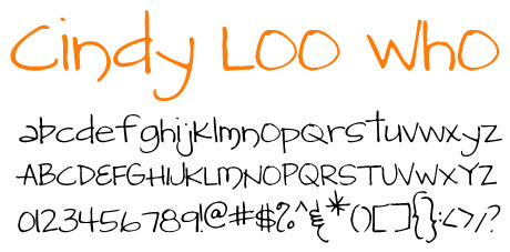 click to download CindyLooWho