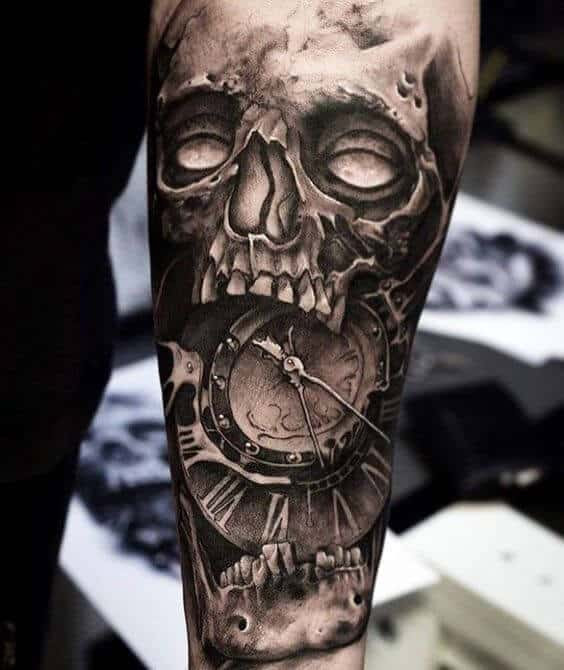 Clock Tattoos For Men Ideas And Designs For Guys