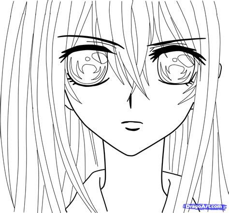 draw yuki kuran  vampire knight step  step