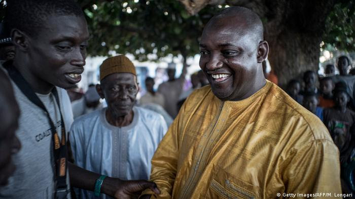 Adama Barrow (Getty Images/AFP/M. Longari)