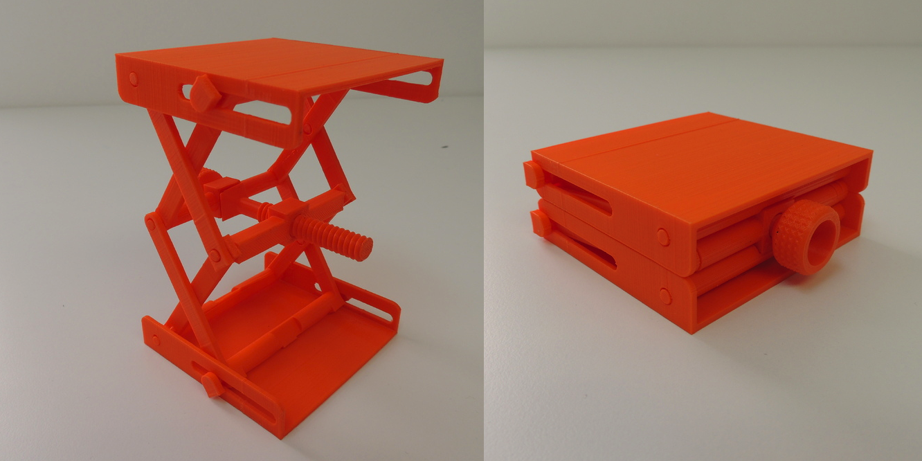 Fully Functional Platform Jack is Amazingly 3D Printable as One ...